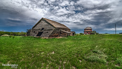 Barn Dance (Pat Kavanagh) Tags: barn farm homestead prairies prairie saskatchewan leader
