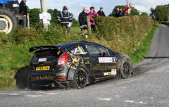 Ulster Rally 2016 (Enda Healy) Tags: ulster rally 2016 rallying northern ireland irish tarmac championship british r5 evans cronin fisher bogie skoda fabia fiesta ford citroen ds3 drift fast action handbrake nikon d750 nikkor