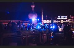 jazz on the rooftop (dariapitak) Tags: jazz concert wroclaw night city nikon d600