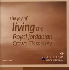 The joy of living the Royal Jordanian Crown Class story; 2015_1 (World Travel Library) Tags: joy living crown class story 2015 royaljordanian  jordanian airlines brochure aviation world travel library center worldtravellib papers prospekt catalogue katalog flug air airtransport transport holidays tourism trip vacation photos photo photography pictures images collectibles collectors collection sammlung recueil collezione assortimento coleccin ads online gallery galeria magazine documents dokument broschyr  esite   catlogo folheto folleto   ti liu bror