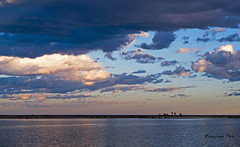 Espejo de la laguna (Fotgrafo-robby25) Tags: atardecerenelmarmenor fujifilmxt1 lopagnmurcia marmenor nubes salinasyarenalesdesanpedrodelpinatar