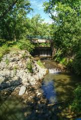 Falls on Falls (ljsmith_1975) Tags: rutland iowa abandoned abandonediowa lowheaddam dam desmoinesriver powerplant hydroplant hydroelectric humboltcounty