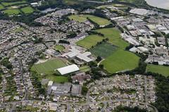 Falmouth Penryn College aerial (John D F) Tags: aerial aerialphotography aerialimage aerialphotograph aerialimagesuk aerialview droneview falmouth cornwall penryn penryncollege