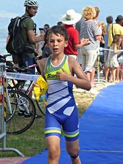 After the swim (Cavabienmerci) Tags: kids triathlon 2016 yverdon les bains switzerland suisse schweiz kid child children boy boys run race runner runners lauf laufen lufer course  pied sport sports running triathlete