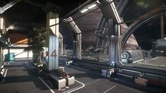 Port Olisar (starcitizenhungary) Tags: spacestation port olisar ships aegis vanguard screenshot