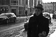 Sunny Dreams (Ronnie Spoelstra) Tags: street blackandwhite netherlands nikon zwartwit nederland denhaag thehague unsharp straat onscherp d3100