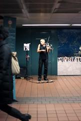 Lorenzo Laroc (Tanya Nagar) Tags: nyc musician newyork subway metro grandcentralstation performer violinist newyorksubway lorenzolaroc