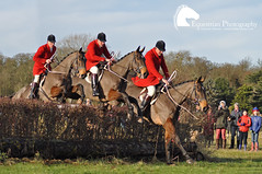 Boxing Day Hunt 2012 (Vicktrr) Tags: horse photoshop jump jumping cross country hunting fox hunter foxhunt edit hunt foxhunting huntsman quorn foxhounds leciestershire prestwoldhall huntingpink huntmeet