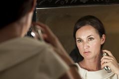 Scent of a Woman (stuARTfoto) Tags: portrait reflection beauty mirror model nikon natural bokeh candid d90 eoshe nikond90 nikonmicro105mmf28 mwsg