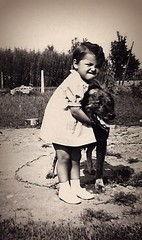 The dog of my mother (Scossadream) Tags: blackandwhite dog love cane eva shot grandmother crying mother bn grandparents mamma bologna hairdresser modena antico amore nonno madre edit biancoenero gabriella nonna bimba capelli bambina nonni piange cremonini didimo parrucchiera lucaguizzardi