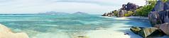 DSC05241b La Digue, Seychelles: Anse Source d'Argent (wanderlust  traveler) Tags: ocean africa blue sea panorama nature landscape island rocks paradise palmtree tropical seychelles ladigue torquoise