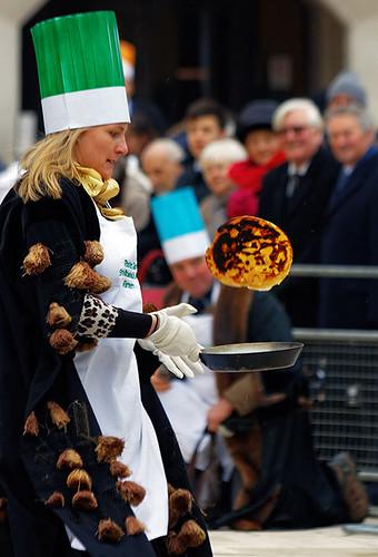 Livery Companies pancake race