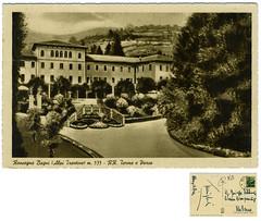 Roncegno Terme, R.R. Terme e parco (Ecomuseo Valsugana | Croxarie) Tags: parco sap cartolina terme roncegno parcodelleterme sittoni roncegnoterme croxarie giuseppesittoni