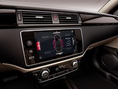 Qoros 3 Sedan - interior - dash and infotainment detail (bigblogg) Tags: sedan qoros3 qorosgq3 geneva2013