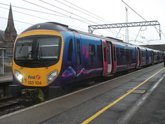 First Transpennine Express 185104 Lockerbie 16/02/13 (David_92) Tags: siemens first express 104 185 transpennine lockerbie desiro class185 185104 ftpe