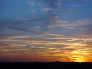 Autumn Sunset, Zeist, Netherlands - 6103  ☼