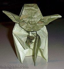 Jedi Master Yoda (BIRD NERD - Marigami) Tags: origami yoda master jedi kawahata marigami