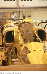 Modernização da aeronave A-1 (Apaixonados por Aviões e Helicópteros) Tags: brazil df a1 brasilia embraer gaviãopeixoto modernização amxa1 fotosilvalopes