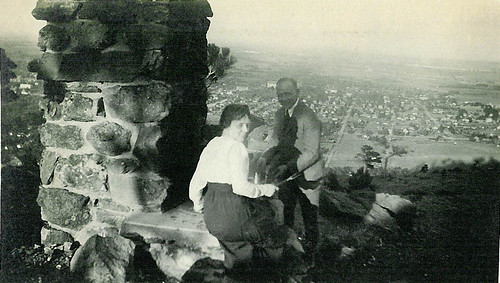 Photo - Historic photo of picnic at Panorama Point
