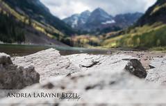 2012 Maroon Bell - Aspen, CO (Andrea LaRayne Etzel) Tags: autumn lake fall nature water clouds bells landscape nikon colorado rocks bell cloudy maroon co wilderness aspen d5000 maroonbell andrealarayneetzel