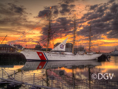 US Coast Guard Eagle @ Sunrise (DGVARCH) Tags: new red 2 england 3 water beautiful beauty look yellow boston clouds for 1 artist ship place earth massachusetts year great group photographers best worldwide level artists sail executive hdr members the beautifulearth chariots thegalaxy a my 14karatgold thenumberone friends♥ travelpilgrims lightingaspects ddsnet♥group birkenheadparkexhibitionplace greaterphotographers aplaceforgreaterphotographers artistoftheyearlevel4 soulophotographylevel1 artistoftheyearlevel5 soulocreativity~level1 rememberthatmomentlevel4 thenewringofexcellence skiessunsetsreflectionsinwater creativeimpulselevel1 rememberthatmomentlevel1 flickrsfinestimages1 flickrsfinestimages3 thenewdoubleringofexcellence rememberthatmoment☆level1 thelooklevel6blue rememberthatmomentlevel2 rememberthatmomentlevel3 thenewtripleringofexcellence rememberthatmomentlevel5 rememberthatmomentlevel8 niceasitgets~level1 whitelevelno5 level1alphaorionis yourshowcase vigilantphotographersunite l2lapassiondelimageultimate rememberthatmoment☆level5 rememberthatmoment☆level7 rememberthatmoment☆level10elite superfotosextraordinariasp1