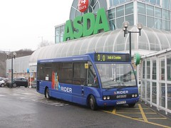 """""""What do you mean this isn't Eastbourne?"""" (13618) Tags: bus asda brighton solo rider eastsussex minibus hollingbury renown optare singledecker eastsussexcc w283eyg"""