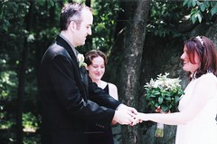 Scan-130304-0040 (Area Bridges) Tags: 2003 wedding newyork june ceremony weddingceremony june2003 poundridge june262003