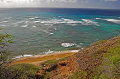 The Big Picture (jcc55883) Tags: ocean sea hawaii nikon oahu horizon pacificocean yabbadabbadoo d40 kaalawaibeach nikond40 diamondheadroad kuileicliffs diamondbeachpark
