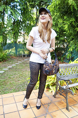 Feb 23 (5) (the joy of fashion) Tags: fashion style baseballhat outfitoftheday fashionblog ootd fashionblogger leopardjeans panamafashion