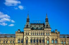 GUM (fede_gen88) Tags: blue sky gum nikon europe day russia moscow clear departmentstore shoppingmall redsquare façade sovietunion ussr cccp москва россия краснаяплощадь гум главныйуниверсальныймагазин d5100