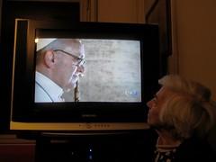 Habemus Papam (! .  Angela Lobefaro . !) Tags: italy pope vatican television tv i