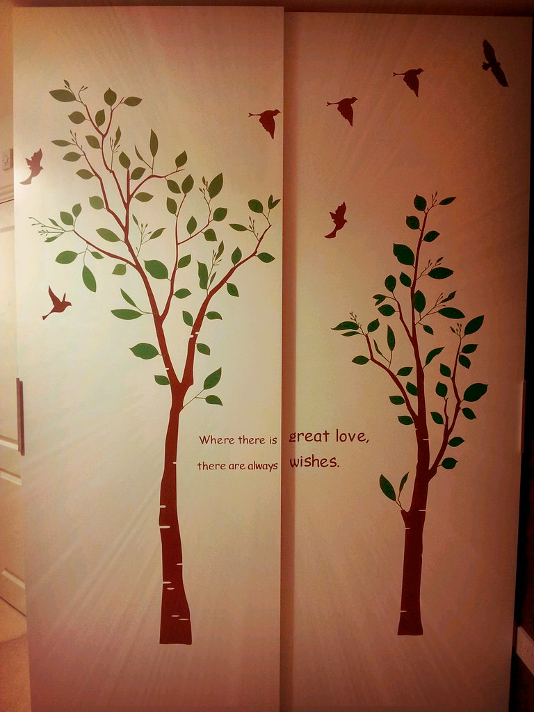 the world s best photos of ikea and wallsticker flickr hive mind 11th january wardrobe tree butterfly crafts tags tree ikea pax decal wardrobe
