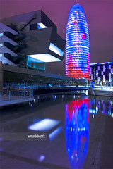 22@ (arturii!) Tags: barcelona city blue red lake reflection building tower pool beauty architecture night wow 22 amazing nice construction arquitectura colorful europa europe torre superb leed awesome great catalonia stunning colored catalunya bullet impressive barcelone bala gettyimages tecnology agbar buisiness captal eixample blaugrana jeannovel interetsing canonoes400d arturii arturdebattk