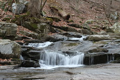 Slow Motion (KinseyParham) Tags: trees water creek waterfall moss fishing rocks maryland havredegrace slowmotion harfordcounty mossyrocks