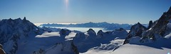 pano2 (addypope) Tags: snow ski france climb power valle snowboard blanche chamonix mont blanc offpiste 2013