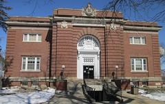 Old Carnegie Library (Mount Vernon, Iowa) (courthouselover) Tags: libraries iowa ia colleges schools mountvernon lincolnhighway linncounty cornellcollege carnegielibraries cedarrapidsmetropolitanarea