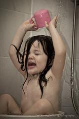 Bathtime! (MarkDeibertPhotography) Tags: laughing children fun shower kid bath toddler child daughter bathing