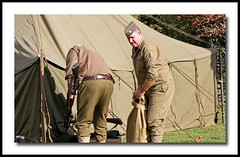 Pickering WW II Weekend (grab a shot) Tags: uk england men train canon vintage soldier army eos war uniform military wwii railway 1940s 7d ww2 reenactment northyorkshire homefront worldwar2 1943 steamtrain 2012 oldfashioned usarmy goathland heartbeat livinghistory nymr hogsmeade northyorkshiremoorsrailway aidensfield canoneos7d pickeringwarweekend harrypotterfilm