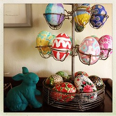 "#easter #decorations #eggs #spring #celebrate #bunny #tradition • <a style=""font-size:0.8em;"" href=""https://www.flickr.com/photos/61640076@N04/8613183619/"" target=""_blank"">View on Flickr</a>"