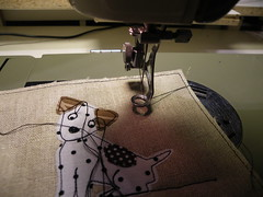 My new old Necchi (monaw2008) Tags: vintage handmade sewing sewingmachine applique necchi monaw monaw2008