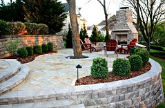 "Outdoor fireplace and flagstone patio • <a style=""font-size:0.8em;"" href=""http://www.flickr.com/photos/22274533@N08/8614544583/"" target=""_blank"">View on Flickr</a>"