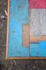 Urban Mondrian (boro.boro) Tags: wood blue red urban london art texture table bokeh top grunge textures weathered mondrian grungy grungytexture