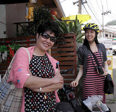 Chinese Tourists in Mae Salong (Hanumann) Tags: thailand maesalong