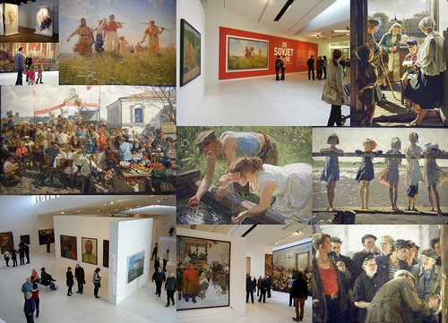 "Impression of the exhibition ""The Soviet Myth"""