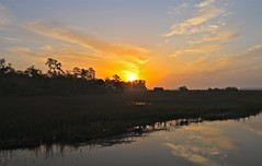 Sunrise on Jones Creek (NickWeiler) Tags: sunrise georgia nwo marsh savannah midway weiler jonescreek dreamphoto nkw nickweileroriginals