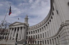 The Halls Of Justice (pam's pics-) Tags: city urban architecture colorado denver co government civiccenter denvercitycountybuilding doorsopendenver pammorris pamspics nikond5000