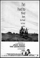 The Searchers (Harald Haefker) Tags: pictures cinema film promotion vintage magazine ads movie print advertising poster pub kino publicidad reclame ad cine retro anuncio advertisement nostalgia 1950s advert western actor 1956 werbung filmposter publicit magazin reklame affiche johnwayne publicitario cin pubblicit motionpicture filmplakat johnford schauspieler rclame thesearchers cinematgrafo celluloide jeffreyhunter veramiles cinoche derschwarzefalke pubblicizzazione