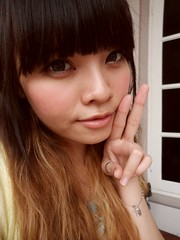 moi again.. (treasurebelle) Tags: me hair ombre indonesian deedee gyaru selca ombrehair treasurebelle piccolettabelle