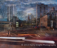 Suburban Daydreams 1. (hary.) Tags: london surrealism leicester photomontage compositeimage