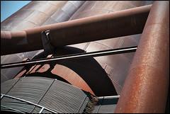 LaPaDu 8/10 (frischauge) Tags: park sun plant color industry metal architecture stairs rust colorful industrial fuji decay steel tube pipe rusty x structure historic fujifilm 1855mm 1855 landschaftspark duisburg ruhrgebiet fujinon xf hochofen xe1 lapadu xtrans xmount xf1855